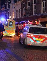 17 december Kindje van de trap gevallen Beestenmarkt Delft