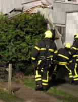 23 februari Hulpdiensten druk met voorjaarsstorm in Haaglanden