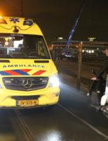 15 februari Bezorger gewond na valpartij met scooter Westvest Delft