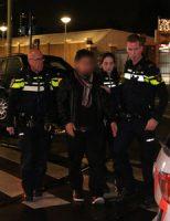 4 december Auto komt tot stilstand op Hagenaartje Hobbemaplein Den Haag