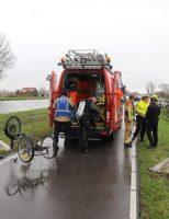 9 december Driewieler langs het water gevonden Schieweg Delft/Schiedam