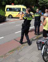 30 juli Fietser gewond geraakt bij aanrijding met afslaande auto Eerste Stationsstraat Zoetermeer