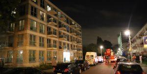 14 oktober Middelbrand in wooncomplex Sara Burgerhartweg Den Haag