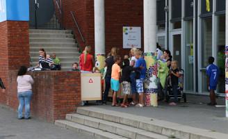 12 augustus Kinderdagverblijf ontruimd na brand op het dak Kristalweg Delft