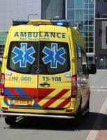 26 juni Brommer rijder gewond bij aanrijding Lange Kleiweg Rijswijk