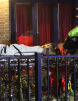 6 december Mobiel Medisch Team rukt uit voor val van hoogte Prinses Marijkekade Voorburg [VIDEO]