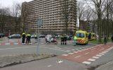 23 maart Twee auto's zwaar beschadigd bij flink ongeval Voorhofdreef Delft