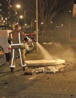 7 januari Matras in brand in flatwoning Roland Holstlaan Delft
