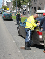 11 september Vier auto's betrokken bij aanrijding Laan van Wateringseveld Den Haag