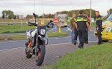 2 oktober Motorrijder gewond bij aanrijding met auto Klaas Engelbrechtsweg Schipluiden