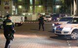 4 november Zwaar bewapende agenten bij bedrijfspand na fikse brand Uitenhagestraat Den Haag [VIDEO]