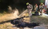 20 juli Opnieuw flinke buitenbrand in natuurgebied Zwetkade Noord Wateringen