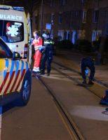 18 april Fietsster zwaargewond bij val Loosduinse Hoofdstraat Den Haag [VIDEO]