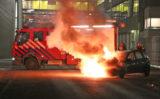 24 februari Rijdende auto vliegt in de brand N.C. Kistweg Delft