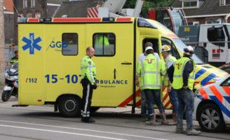 15 juni Man gewond na bedrijfsongeval op bouwterrein Phoenixstraat Delft