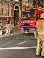 9 juli Bewoner gered met hoogwerker bij brand Groot Hertoginnelaan Den Haag