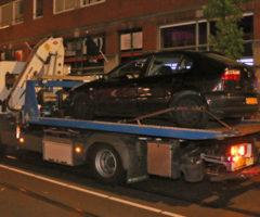 11 mei Politie verricht onderzoek na schietpartij Hobbemastraat Den Haag