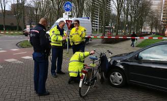 22 januari Fietser aangereden door auto Bosboom Toussantplein Delft