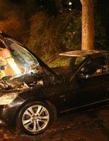 10 juli Vlammenzee bij autobrand J.J. Slauerhofflaan Delft