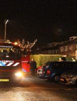 30 december Buurtbewoner lichtgewond bij blussen brand De Blauwe Alicante Wateringen