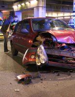12 januari Meerdere gewonden bij aanrijding Parallelweg Den Haag