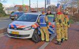 11 december Brandweer doorzoekt water na drijvende tas Zuidwal Delft