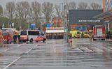 10 november Meerdere mensen onwel na lekkende accu Hornbach Singel Den Haag