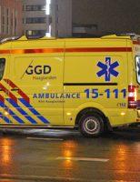 13 maart Flinke schade bij aanrijding berucht kruispunt Prinses Beatrixlaan Den Haag