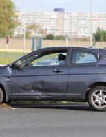 8 oktober Rijstrook afgesloten na ongeval twee auto's A4 Schipluiden