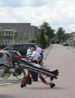4 augustus Fietser aangereden door auto Anna van Raesfeltstraat Schipluiden