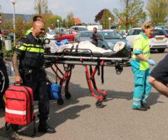 4 mei Kind gewond na val uit kinderwagen Rijskade Pijnacker