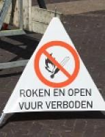 Gaslek door graafwerkzaamheden Delft