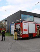 17 oktober Grote brandweer-inzet na vlammen onder vrachtwagencabine Vrij-Harnasch Den Hoorn