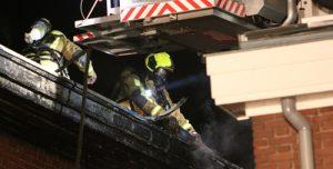 31 augustus Woning zwaar beschadigd door uitslaande brand Langestraat 's-Gravenzande