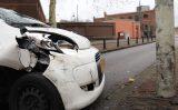 6 december Wouwermanstraat dicht na eenzijdig ongeval met paal Wouwermanstraat Den Haag