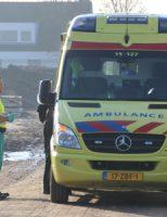 14 maart Scooterrijder gewond bij aanrijding met cementwagen Poeldijkseweg Wateringen
