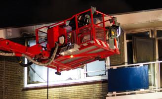 19 december Slachtoffer gered bij woning brand Maassluis
