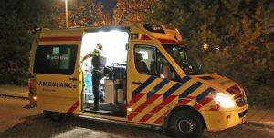 8 november Bewoonster ademt rook in bij brand in senioren woning Polanenhof Den Haag