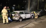 22 april Weer auto in brand Schoutendreef Den Haag
