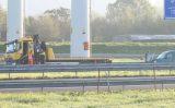 15 oktober Veel rook bij op hol geslagen motor A4 Schipluiden