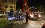 9 november Politie roept hulp in van brandweer bij voetstappen op dak Soestdijksekade Den Haag