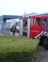 13 december Brandweerinzet door brand in vouwmachine Hoogeveenenweg  Nieuwerkerk a/d Ijssel