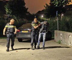 20 juli Verdachte gebeten door politiehond na inbraak Goudplevierlaan Den Haag [VIDEO]