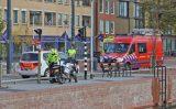 4 oktober Twee mannen springen te water geraakte man achterna Westvest Delft