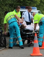 Fietser gewond na val met fiets Westlandseweg
