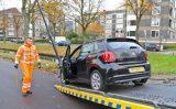 12 november Auto belandt tegen lantaarnpaal na aanrijding Generaal Spoorlaan Rijswijk