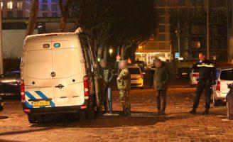 10 december EOD ingezet na melding van schietpartij 1e Lulofsdwarsstraat Den Haag