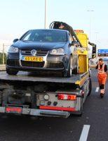 21 juli Flinke file op A12 door ongeval Utrechtsebaan Den Haag