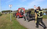 13 oktober Paard en ruiter ongedeerd na te water raken Rijksstraatweg Den Hoorn