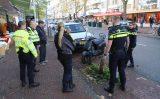 13 november Opzittenden scooter gewond na aanrijding Theresiastraat Den Haag